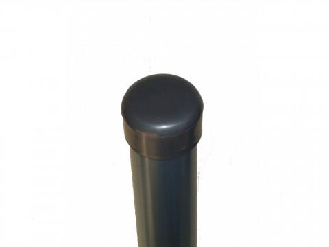 ČEP za stup fi 48 tamno siva antracit