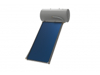 Konstrukcija i set za spajanje za kosi krov za termosifonski komplet 150L spremnik +1 kolektor