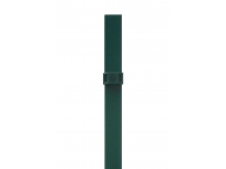 Stup sa pločicom kvadratni sa tri spojnice i čepom, 1550mm 60x60 tamno zelena