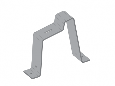 ALUMINIUM UPPER BRACKET FOR CONSTRUCTION UNDER 5°