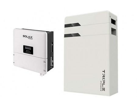 SOLAX TRIPLE POWER T45 (1 PC.)(4,5 KWH)+X1 HYBRID 3.0-T SET