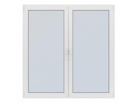 PVC PROZOR SALAMANDER PERFECT ECO LINE 120CMx120CM DVOKRILNI BIJELI