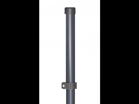 Stup za ugradnju u beton okrugli fi 48 1500mm tamno siva antracit