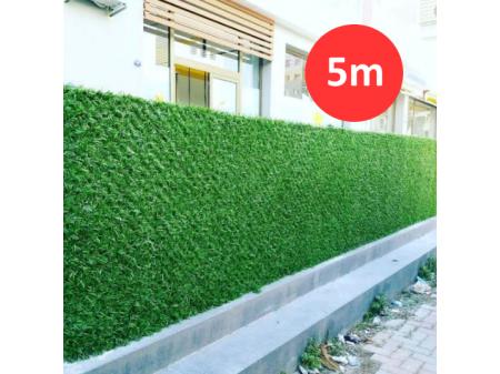 Umjetna trava za ogradu visine 1,5m, cijena za rolu dužine 5m