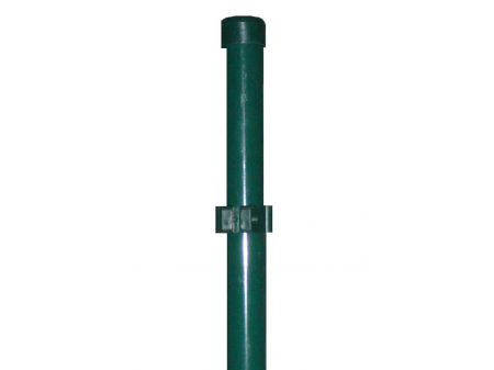 Stup za ugradnju u beton okrugli fi 48 2000mm  tamno zelena
